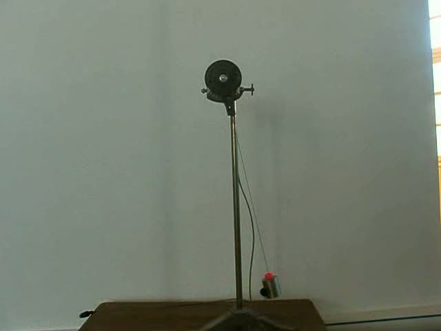 Pendule simple angle variant