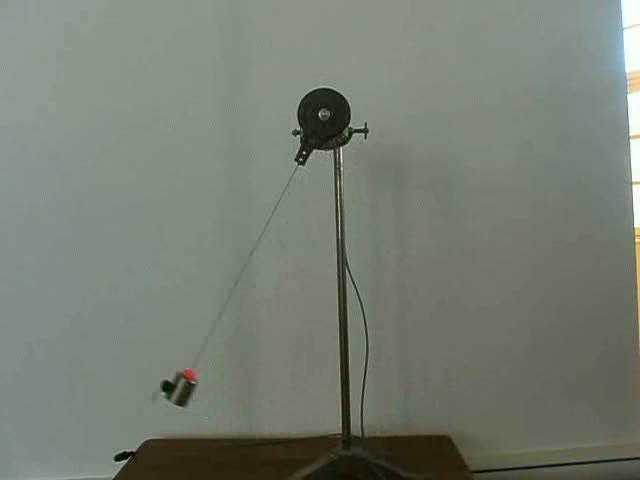 Pendule simple masse variante